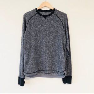 Lululemon Cypress Run Gray Long Sleeve Pullover